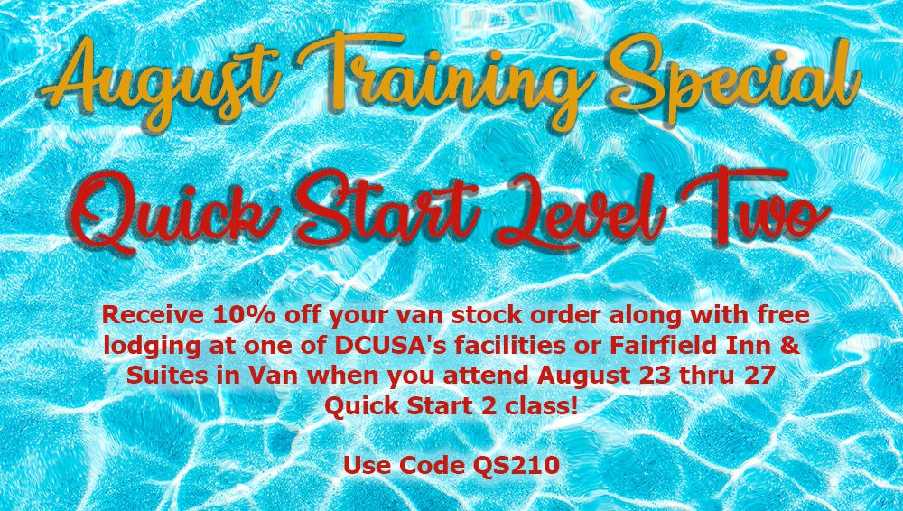 August Training Special Banner ESM